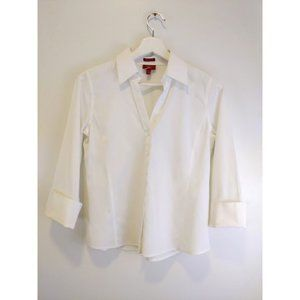 Talbots Wrinkle Resistant Collared Shirt Size 4p